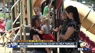 San Diego mom starts babysitting co-op to help families