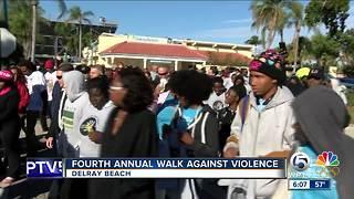 Walk Against Violence held in Delray Beach