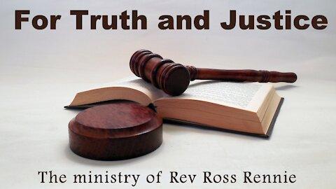 Rev Ross Rennie mission work