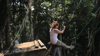 The World's Most Dangerous Swings - Ecuador