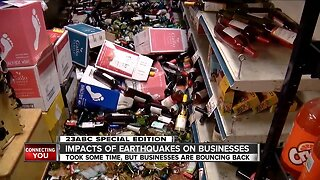Impacts of Ridgecrest earthquakes on businesses