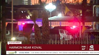 Police: 2 dead after shooting at apartment complex near Vegas Strip
