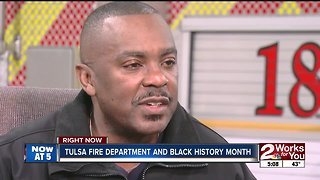 Tulsa firefighters reflect on Black History month