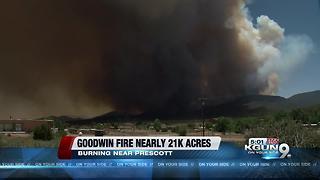Goodwin Fire and Frye Fire Update 6/28