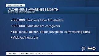 Alzheimer awareness month
