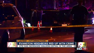 Evanston on edge after shots fired Monday