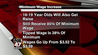 Michigan minimum wage, sick leave laws to take effect