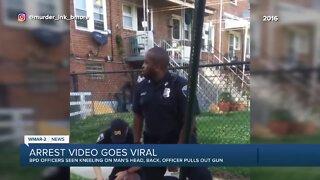 Arrest video goes viral