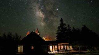 Utrolig timelapse av meteorstorm