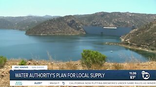 Water Authority's plan for local supply