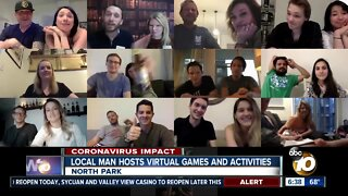 San Diegans connecting through virtual games and activities