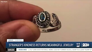 Kern's Kindness: Stranger's kindness returns meaningful jewelry