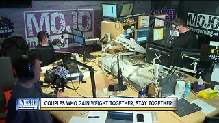 Mojo in the Morning: Couples who gain weight together stay together