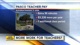 Pasco County discusses increasing teacher pay