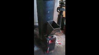 Homemade Rocket Stove