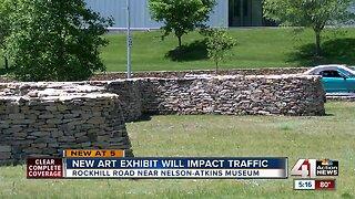 New art exhibit will impact traffic