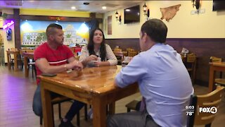 Cuban restaurant owner explains why she supports the ongoing protests against the government