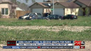 Kern County cities to receive grants for parks