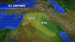 BIDEN STRIKES SYRIA