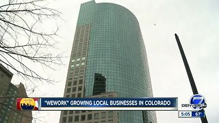 WeWork growing local businesses in Colorado