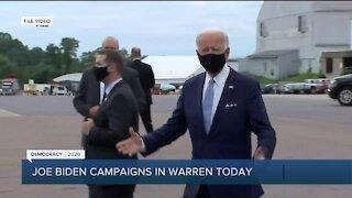 Joe Biden to campaign in Warren