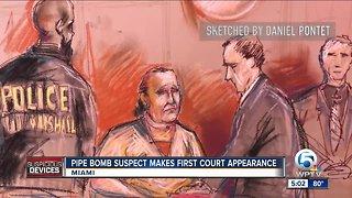 Soft-spoken mail bomb suspect Cesar Sayoc makes 1st court appearance