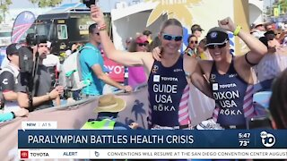 Encinitas Paralympian battles health crisis