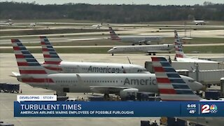 American Airlines warns employees of possible furloughs