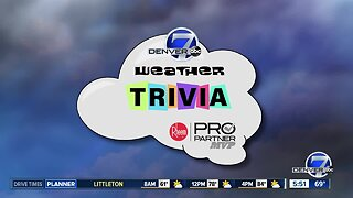 Weather trivia: Earliest first snow on record would be this week