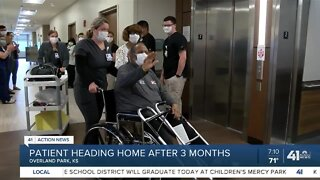 Lee's Summit man leaves hospital after long COVID-19 battle
