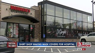 Omaha business making mask covers for hospital