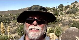 Hiker injured and lost in Joshua Tree