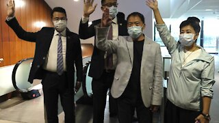 Hong Kong's Pro-Democracy Lawmakers Resign