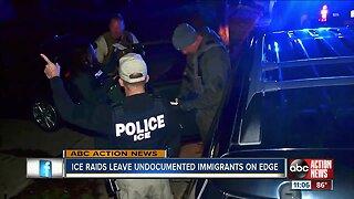 Immigration raids leave undocumented immigrants on edge