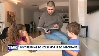Start with Sleep Story Time helps connect parents to their kids
