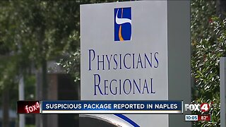 Naples Police respond to suspicious package call