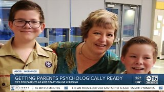 Valley mom prepares for social distance learning during pandemic
