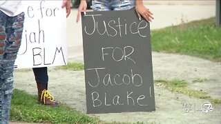 Hundreds gather in Denver for Jacob Blake, Black man shot several times by police in Wisconsin