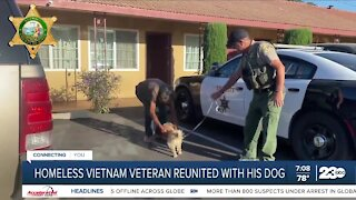 Vietnam veteran gets reunited with beloved dog