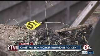 Construction worker hurt in Carmel