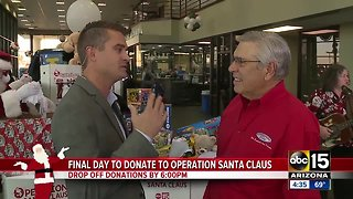 The final day to donate to Operation Santa Claus