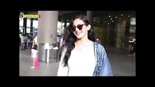 Spotted: Nushrat Bharucha and Amyra Dastur at the Airport | SpotboyE