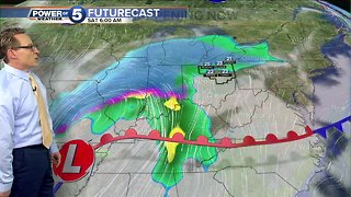 Mark's Friday evening update on the weekend weather