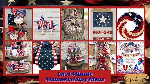 The Teelie Blog | Last Minute Memorial Day Ideas | Teelie Turner