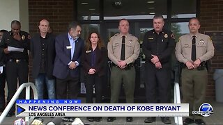 News conference on death of Kobe Bryant