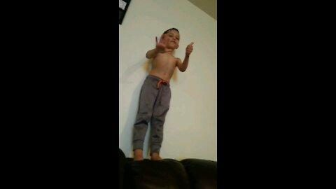 Jump skills 😂