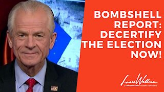 Bombshell Report: Decertify The Election Now!