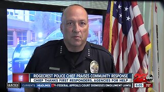 Ridgecrest Police Department Chief Jed McLaughlin has message for the community