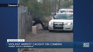 Violent arrest caught on camera