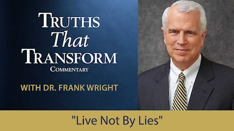 """""""Live Not By Lies"""""""